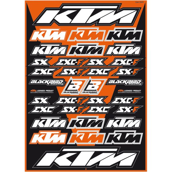 Graphics Blackbird Sticker Kit Universal KTM
