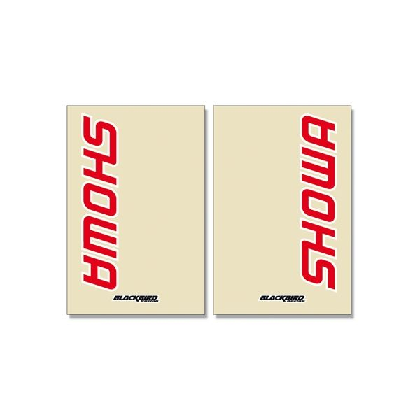 Grafice Moto Blackbird Stickere Furca Showa Clear 2pk 5045s