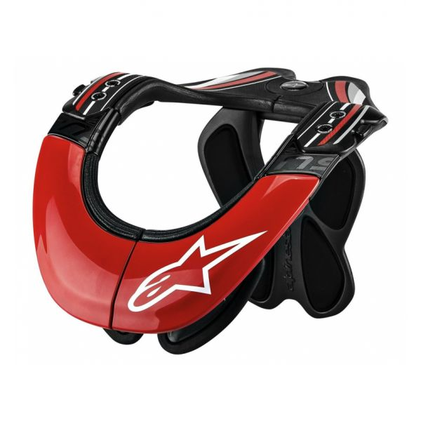 Protectii Coloana-Gat Alpinestars Protectie Moto Gat BNS Tech Carbon Support Black/Red 2021