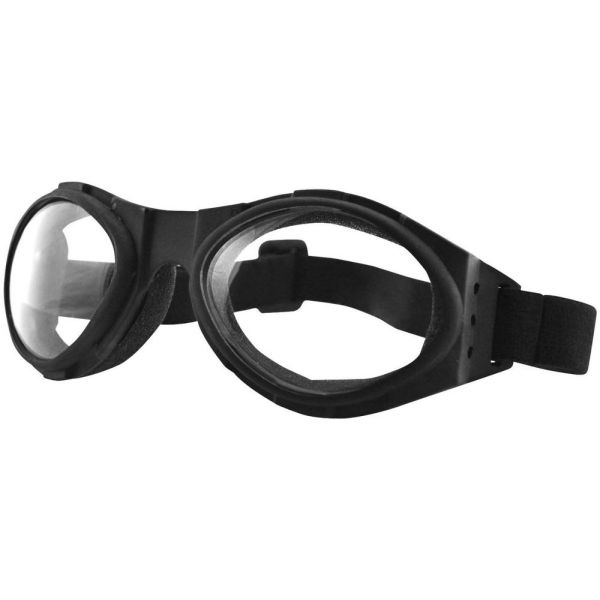 Ochelari Chopper Bobster Ochelari Bugeye Extreme Sport Black Lenses Clear
