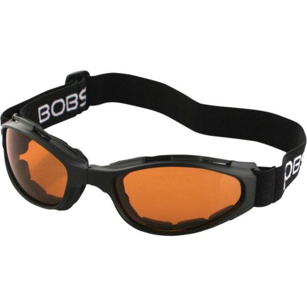 Ochelari Chopper Bobster Ochelari Crossfire Foldable Adventure Black Lenses Amber