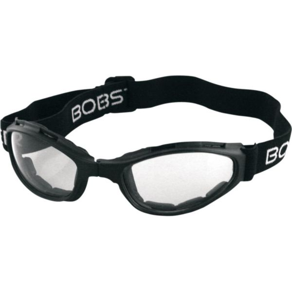 Ochelari Chopper Bobster Ochelari Crossfire Foldable Adventure Black Lenses Clear