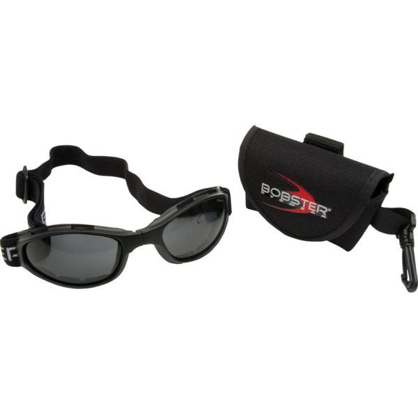 Ochelari Chopper Bobster Ochelari Crossfire Foldable Adventure Black Lenses Smoke