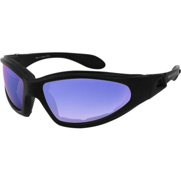 Ochelari Chopper Bobster Ochelari GXR Adventure Black Lenses Mirrored Cyan Smoke