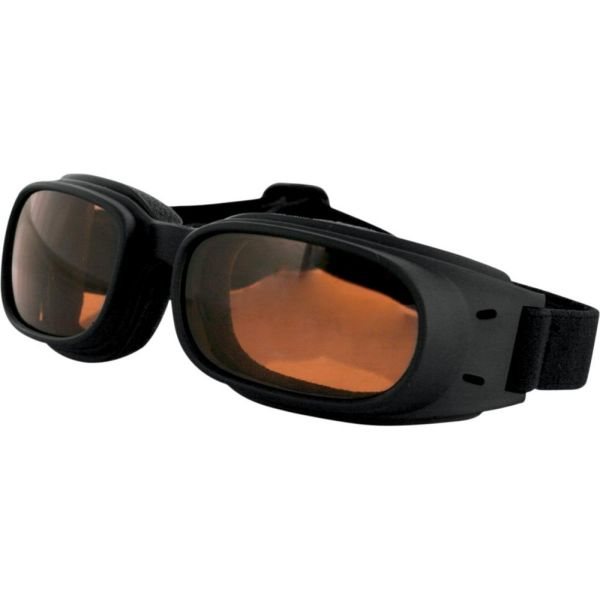 Ochelari Chopper Bobster Ochelari Piston Adventure Black Lenses Amber