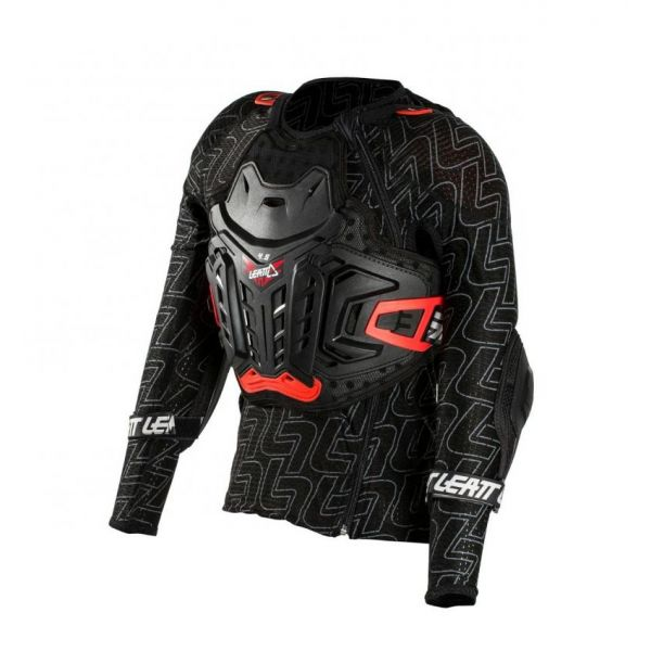 Protectii MX-Enduro Copii Leatt Armura Moto MX Copii 4.5 Black/Red 2021