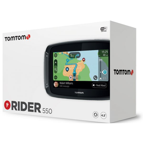 Sisteme GPS Tom Tom Rider 550 World Route Sistem GPS Moto