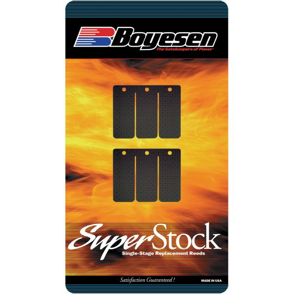 Lamele Muzicute Boyesen Lamele Carbon Super Stock STOCK 83-96 KX250/TECA KAWASAKI