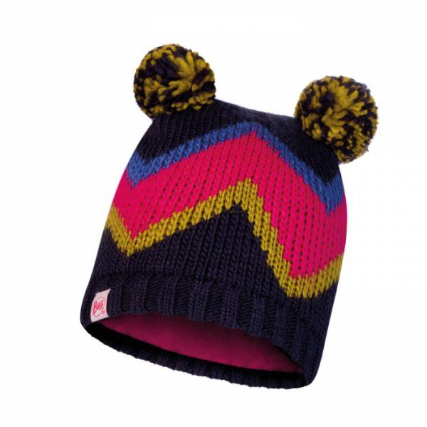 Imbracaminte Copii Buff Caciula Copii Knitted & Polar Arild Deepblue