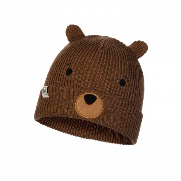 Imbracaminte Copii Buff Caciula Copii Knitted & Polar Funn Bear