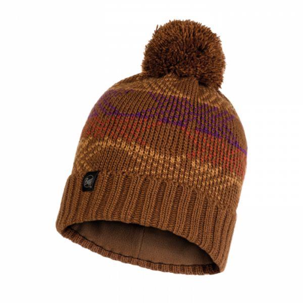 Caciuli Buff Caciula Knitted & Polar Garid Tundra Khaki