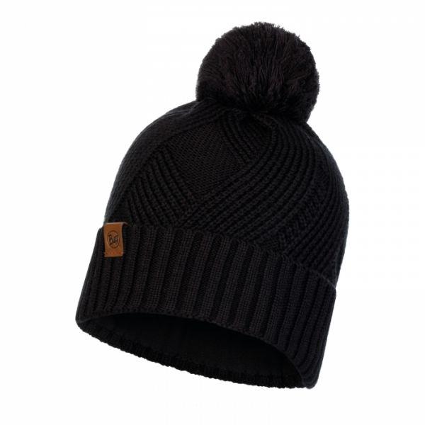 Caciuli Buff Caciula Knitted & Polar Raisa Black