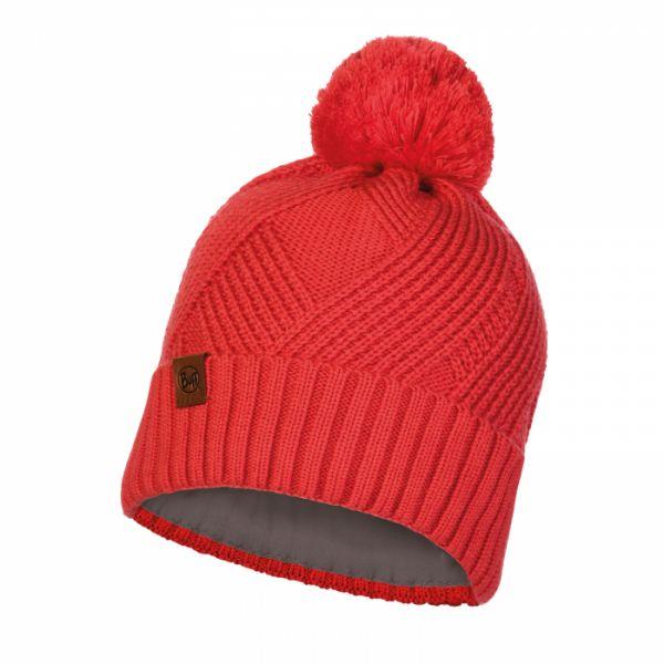 Caciuli Buff Caciula Knitted & Polar Raisa Blossom Red
