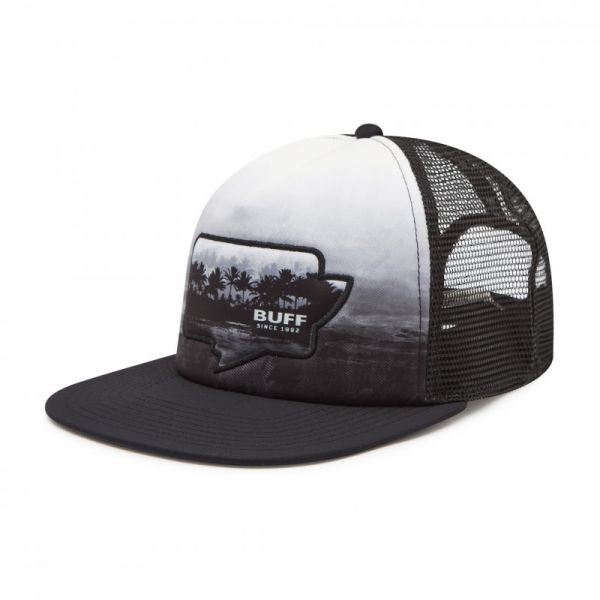 Sepci Buff Sapca Trucker Sendel Black L/XL