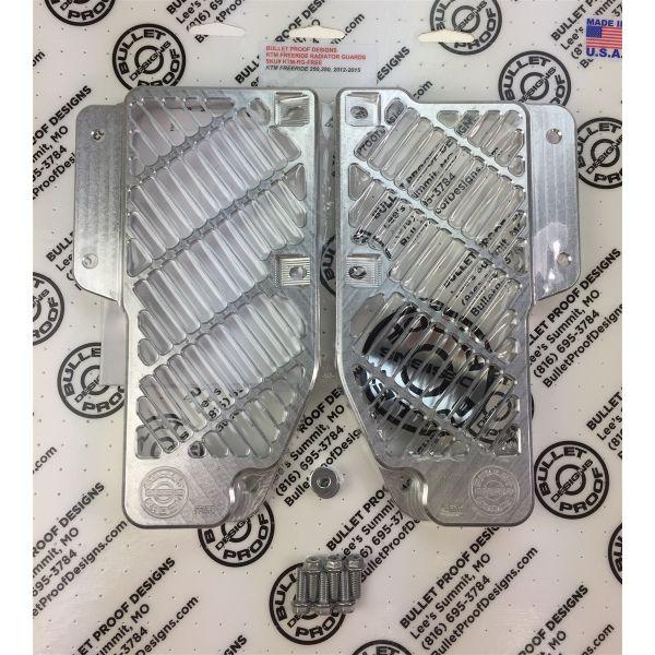 Protectii Radiator Bullet Proof Designs Protectie Radiator Aluminiu KTM Freeride 2013-2017
