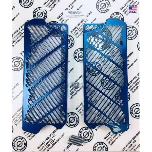 Protectii Radiator Bullet Proof Designs Protectie Radiator Aluminiu Sherco 2T 2014-2018