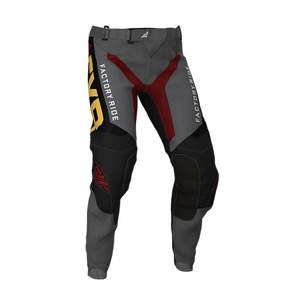 Pantaloni MX-Enduro FXR Pantaloni Helium MX Char/Rust/Gold 2020