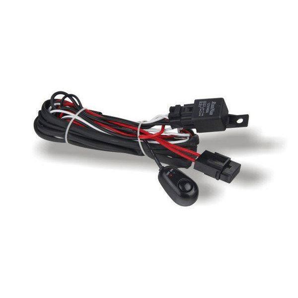 Bare Led ATV/UTV XTC Lights Kit Cablaj Complet 3m cu Buton, Siguranta si Releu 12V 40A