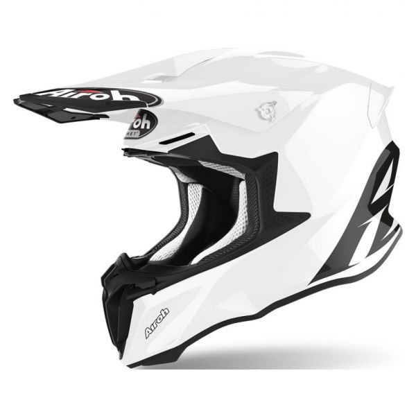 Casti MX-Enduro Airoh Casca Moto MX Twist 2.0 Alb Lucios 2020
