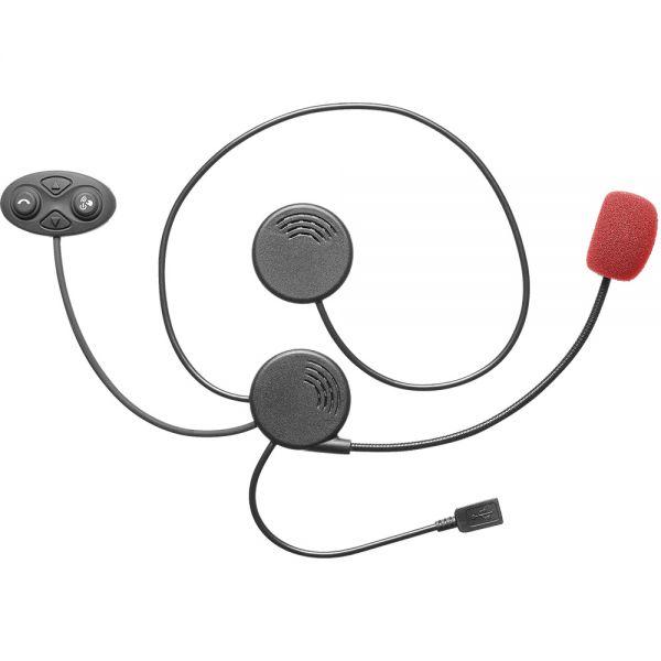 Sisteme Comunicatie Cellularline Sistem Comunicare Casca Moto Black