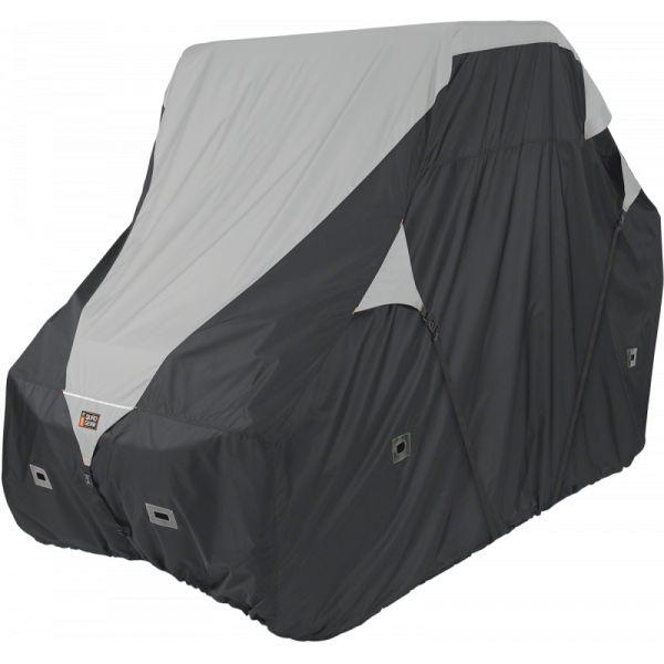 Huse ATV Classic Accessories Husa UTV Deluxe Black/Grey 40020086