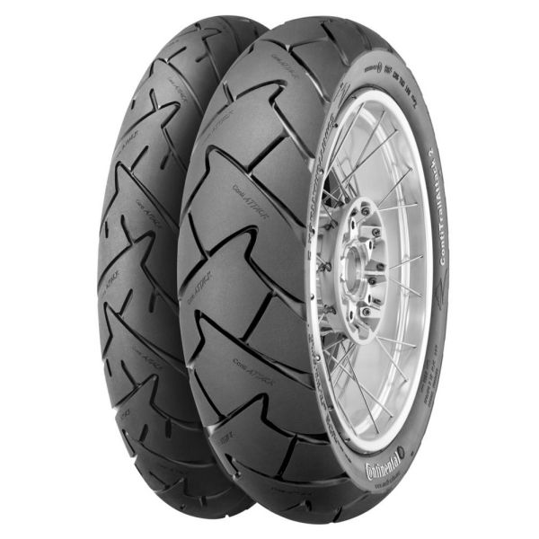 Anvelope Dual-Sport Continental ANVELOPA ContiTrailATTACK 2 SPATE 130/80-17 (65S) TL