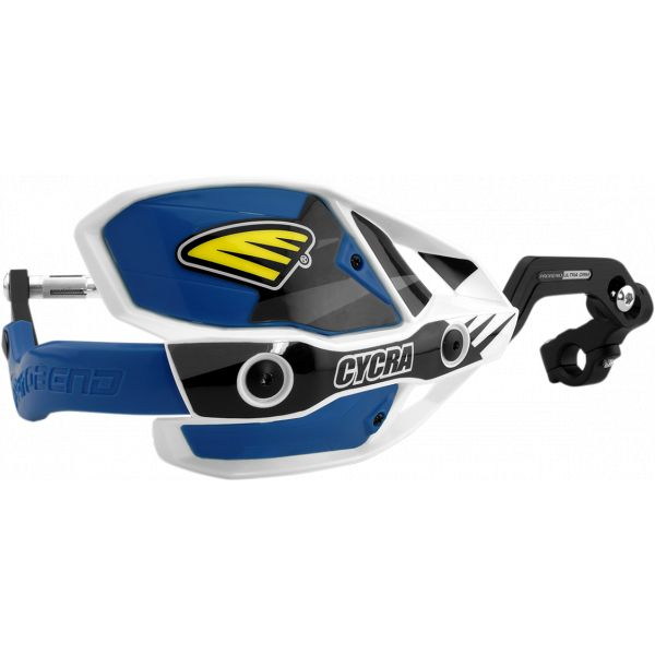 Handguard Cycra Handguard Ultra Probend Crm Complete Racer 28.6mm White/blue-1cyc-7408-89