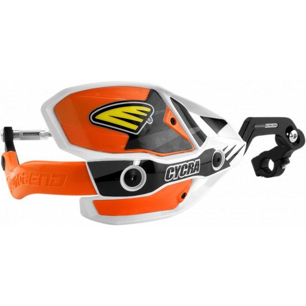 Handguard Cycra Handguard Ultra Probend Crm Complete Racer 28.6mm White/orange-1cyc-7408-22x