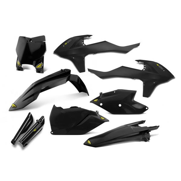 Plastice MX Cycra Kit Complet Plastice Powerflow KTM EXC 300 20017-2020 Black