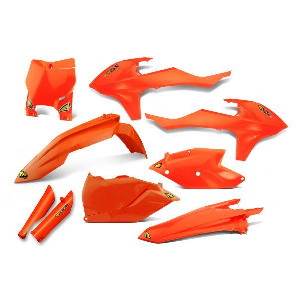 Plastice MX Cycra Kit Complet Plastice Powerflow KTM EXC 300 20017-2020 Orange