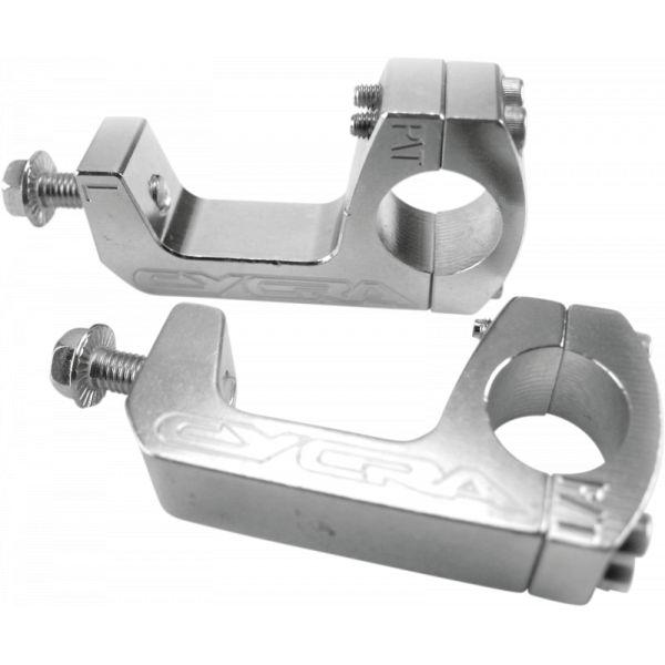 Handguard Cycra Kit Montaj Handguard Probend Clema U Pro-taper -2007 Silver-1cyc-1150-02