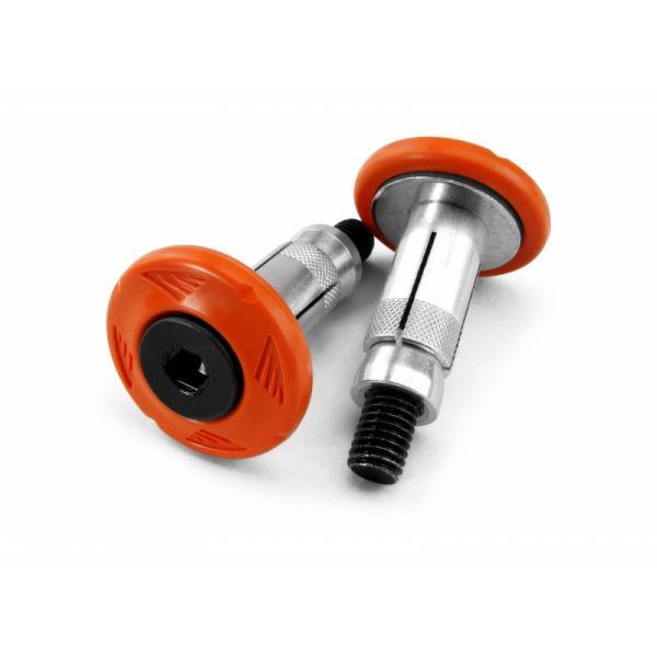 Mansoane Enduro-MX Cycra Protectie Mansoane Capete Ghidon Set 2 buc. Portocaliu-1cyc-0010-22