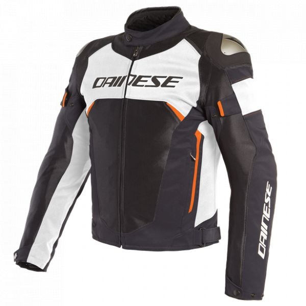 Echipamente DAINESE Dainese Dinamica Air D-Dry Jacket  Black/White/Fluo-Red 2020