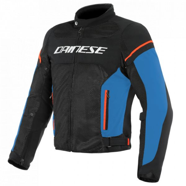 Dainese Geaca Textila Air Frame D1 Tex Black/Light-Blue/Fluo-Red 2020