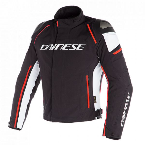 Echipamente DAINESE Dainese Geaca Textila Racing 3 D-Dry Black/White/Fluo-Red 2020