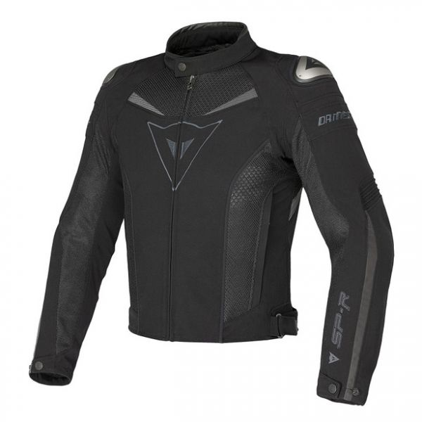 Dainese Geaca Textila Super Speed Tex Black/Black/Dark-Gull-Gray 2020