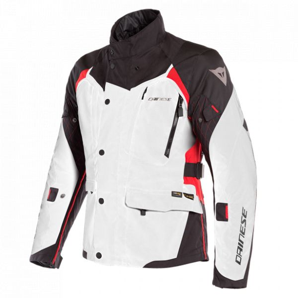 Echipamente DAINESE Dainese Geaca Textila X-Tourer D-Dry Light-Gray/Black/Tour-Red 2020