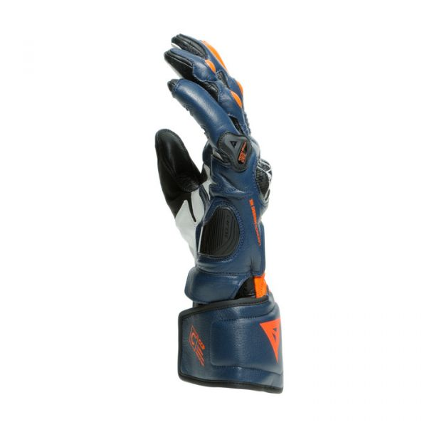 Echipamente DAINESE Dainese Manusi Piele Carbon 3 Long Black-Iris/Flame-Orange/Fluo-Red 2020