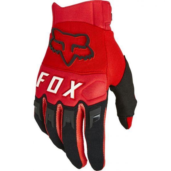 Manusi MX-Enduro Fox Manusi Moto MX Dirtpaw Flo Red 2021