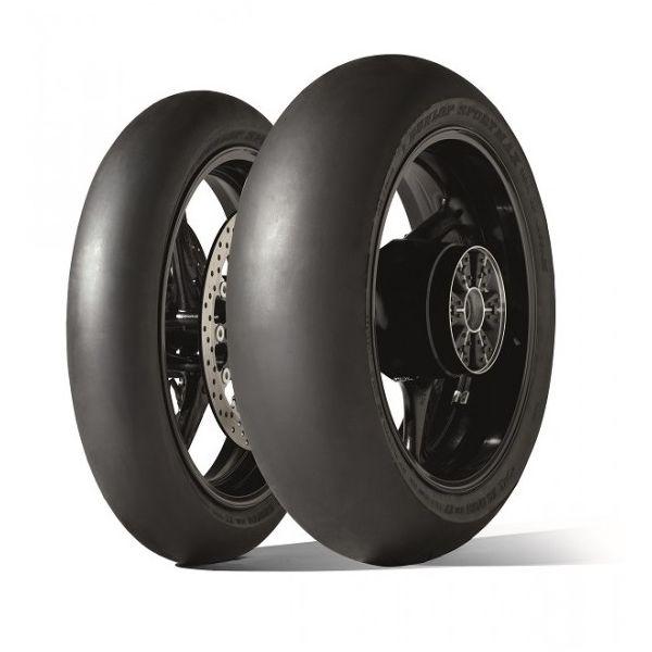 Anvelope Strada Dunlop Gp Racer Slick D21 M Anvelopa Moto Spate 190/55 Zr 17 Tl Nhs-634643