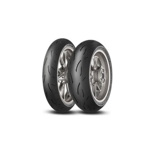 Dunlop SET SPORTMAX GP RACER D212, 120/70-17 (58W) M + 180/55-17 (73W) E (DU634635 + DU634638)