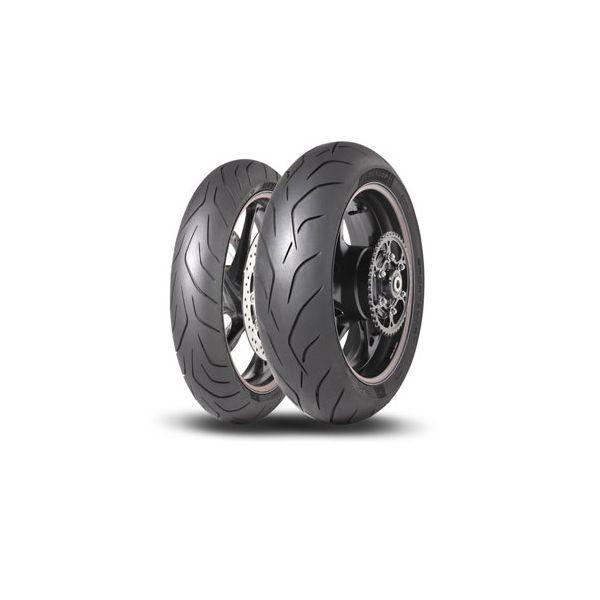Dunlop SET SPORTSMART MK3, 120/70-17 (58W) + 180/55-17 (73W) (DU635215 + DU635216)