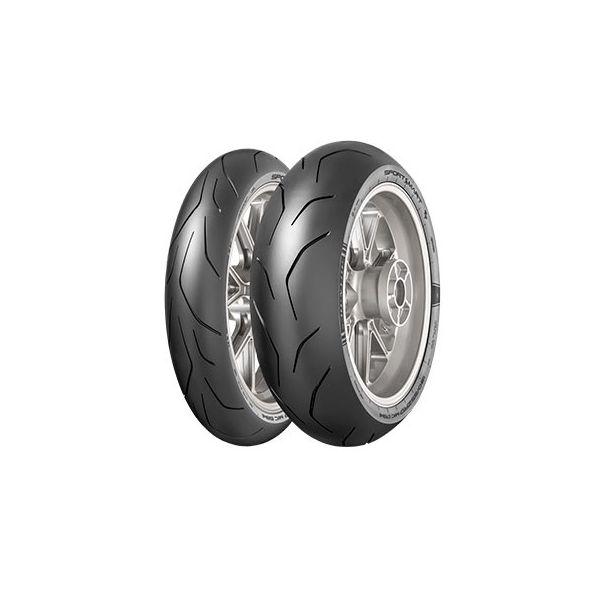 Dunlop SET SPORTSMART TT, 120/70-17 (58W) + 200/55-17 (78W) (DU635177 + DU635225)