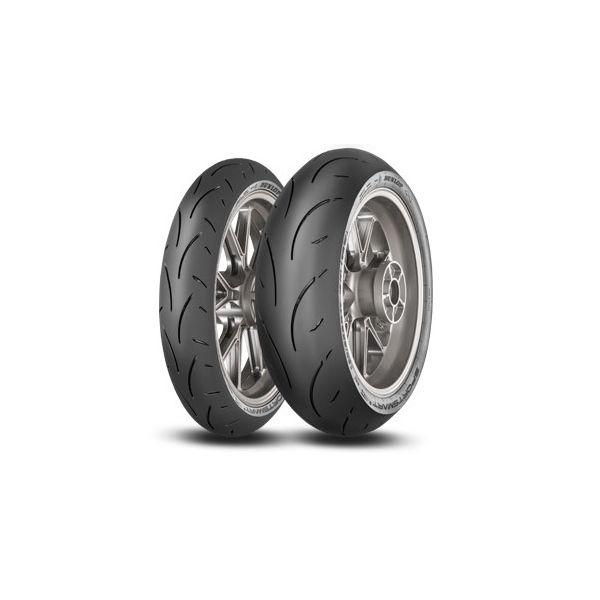 Dunlop SET SPORTSMART2 MAX, 120/70-17 (58W) + 180/55-17 (73W) (DU635457 + DU635462)