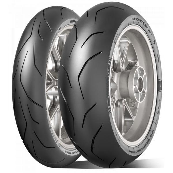 Anvelope Strada Dunlop Sportsmart Tt Anvelopa Moto Fata 120/70 Zr17 (58w) Tl-635177