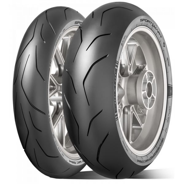 Anvelope Strada Dunlop Sportsmart Tt Anvelopa Moto Spate 180/60 Zr17 (75w) Tl-635223