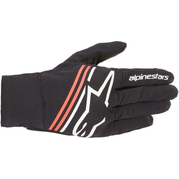 Manusi Moto Sport si Piele Alpinestars Manusi Textile Sport Reef Negru / Rosu / Alb