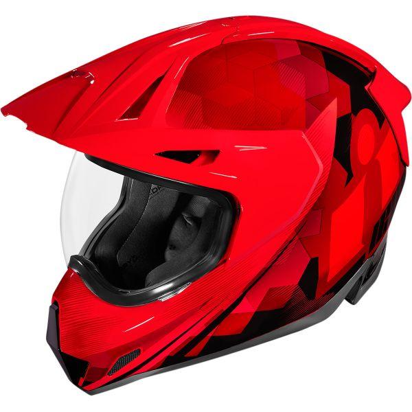 Casti Moto Adventure-Touring Icon Casca Moto Full-Face Variant Pro Ascension Red 2021