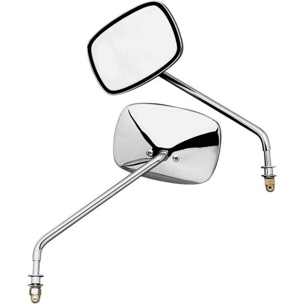 Oglinzi Moto EMGO Set Oglinzi Cu Tija Long Stanga/Dreapta Chrome 20-21705