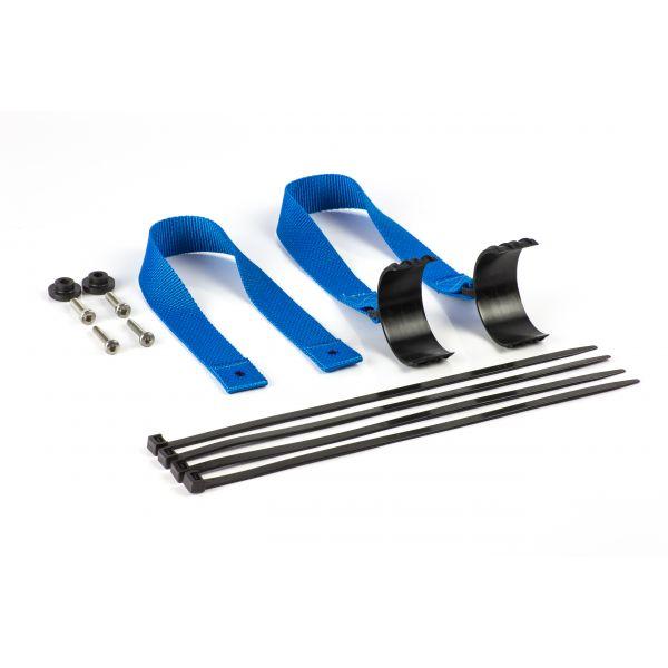 Accesorii MX-Enduro Extreme Parts Curea Tractare Fata+Spate KTM/HUSQ 17-19 Blue